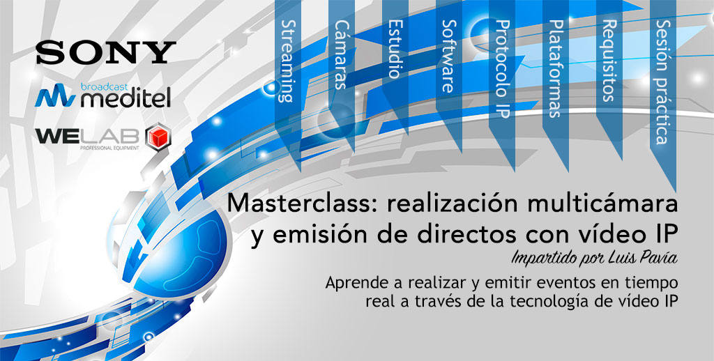 Taller práctico de realización y streaming por video IP en Welab