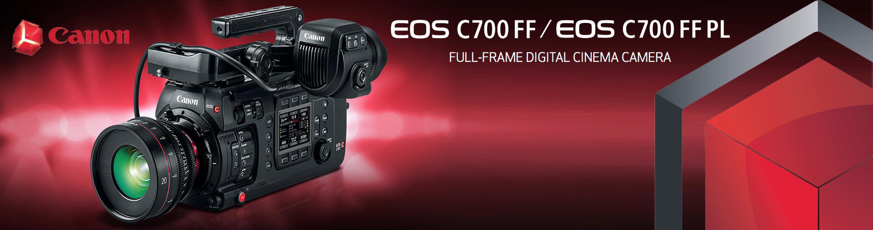 Nueva Canon C700 FF en Welab