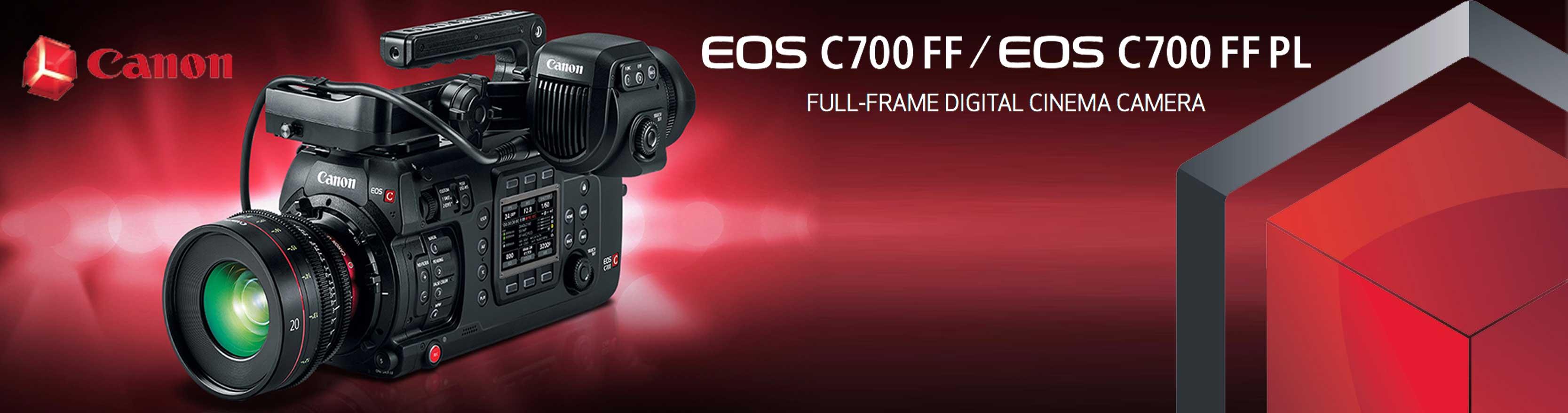 Canon C700 FF en Welab