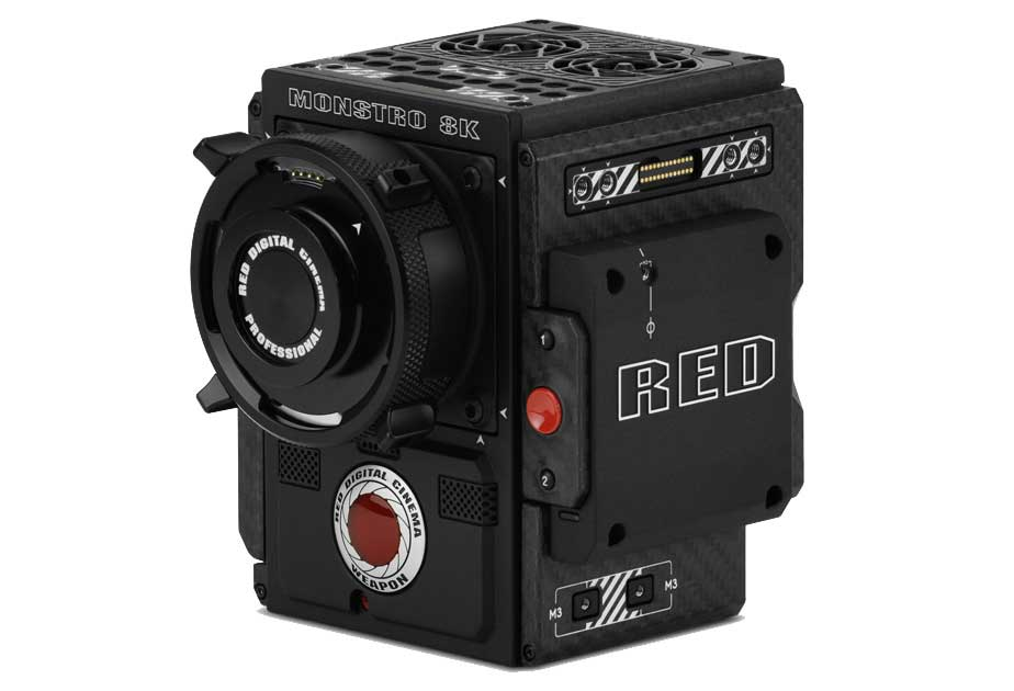 Camara RED Monstro 8K de Welab