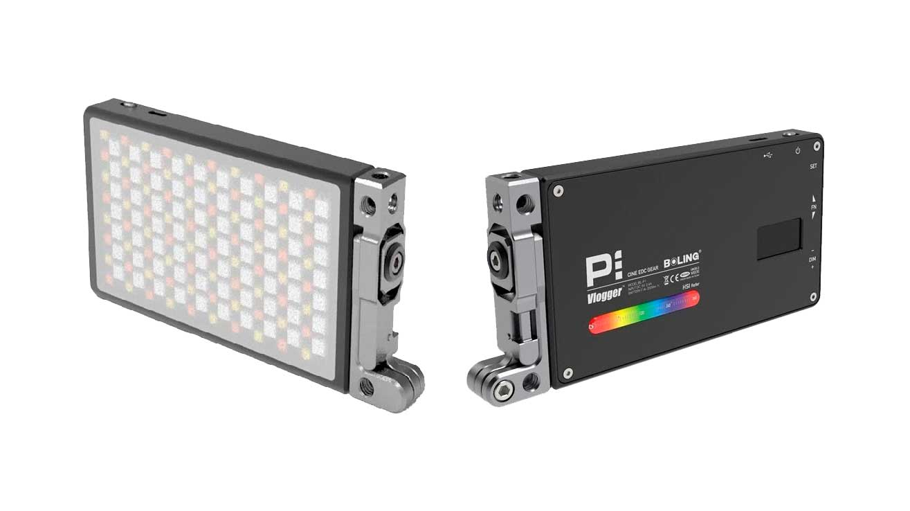 Luz led de vídeo Boling rgb