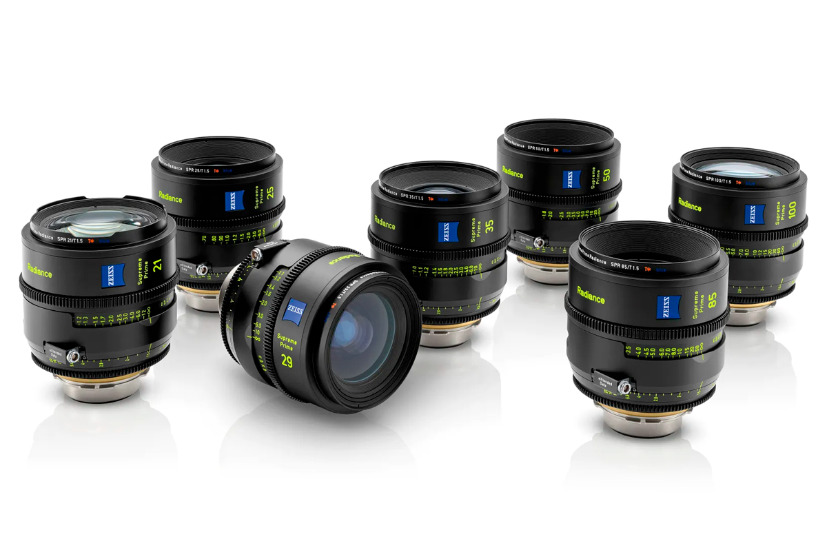 SET x7 LENTES ZEISS SUPREME RADIANCE (21,25,29,35,50,85,100 mm)