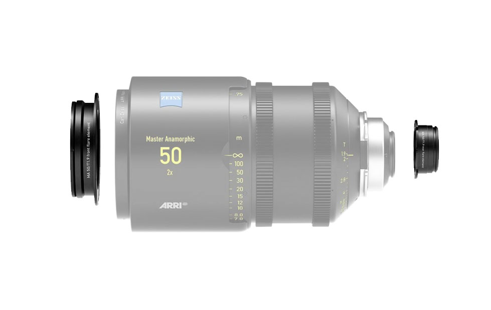 Alquiler Flare sets Master Anamorphic