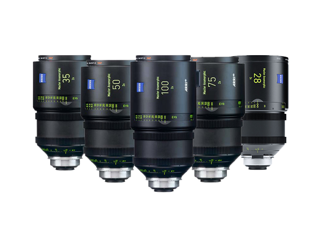 Zeiss Master Anamorphic lens