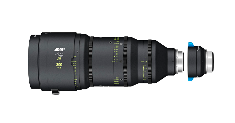 ZOOM ARRI SIGNATURE 65-300 mm T2.8 + EXTENSOR 1.7X