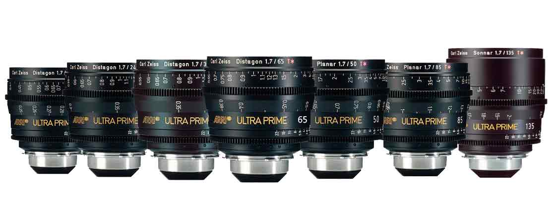 set lentes ultraprime zeiss